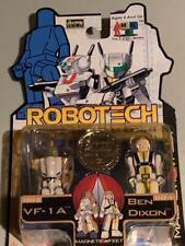 Vintage Robotech I Men Collection Toynami Harmony Gold VF-1A Ben Dixon Veritech