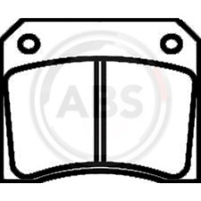 Bremsbelagsatz Scheibenbremse - A.B.S. 36001