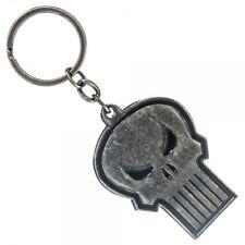 Punisher Metal Keychain NEW Toys Keyring Skull Logo Symbol Accessories