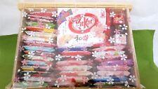 NESTLE KITKAT JAPAN TIROL 50pcs GIFT SET  SAKE BANANA  F/S  Reuse in LUNCH BOX