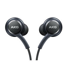 GENUINE SAMSUNG GALAXY S8 S8 + PLUS BLACK AKG IN EAR HANDSFREE HEADPHONES