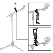 Music Microphone Stand Mount Holder Adjustable for Cellphone and Tablet PC Ipad