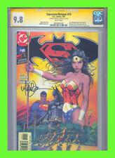Superman/Batman #10 CGC 9.8 SS Micheal Turner VHTF!