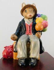 "Royal Doulton Bunnykins Figurine - ""Balloon Man"" Db366 - W/Box & Coa"