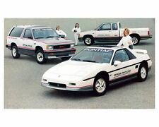 1984 Pontiac Fiero GMC Pickup Jimmy Indy 500 Pace Car & Truck Photo ca2109