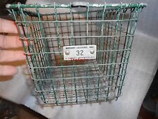 Vintage Medart Metal Gym Locker Basket Steampunk