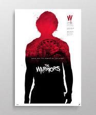 Los guerreros firmado Poster De Impresión Fine Art alternativa película NT Mondo