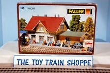 FALLER 110097 BLUMENFELD STATION  BUILDING KIT. HO SCALE. NEW IN BOX.