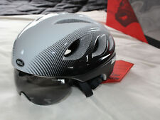 Bell Star Pro Shield White Black Adult Size M 55-59cm Active Aero Bicycle Helmet