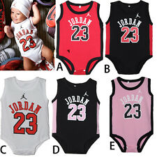 8621309513b New BABY BOYS SPORT JORDAN 23 ROMPER BABY BABYGROWS SUMMER PLAYSUITS CLOTHES  A+