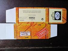 BOITE VIDE NOREV  CITROEN 2CV AZPL 1957 EMPTY BOX CAJA VACCIA