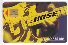 FRANCE  TELECARTE / PHONECARD ..120U F300 SO3 BOSE GUITARE A 2A6326 UT/TBE C.22€