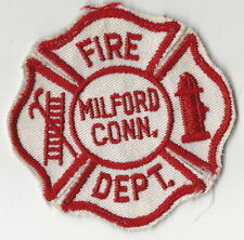 RARE Milford Connecticut Fire Department Company Patch