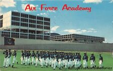 COLORADO SPRINGS CO 1967 U.S. Air Force Academy Cadets on Parade VINTAGE USAF
