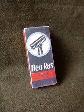 Neo Ras razier razor empty box WW2 Wehrmacht