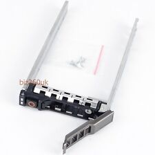 "G176J 2.5"" SAS SATA HDD Hard Drive Tray Caddy for DELL PowerEdge R610 R720 R810"