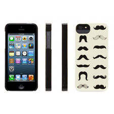 Hard PC Cover for iPhone 5/5S/SE PC Hard Shell Mustachio Design by Griffin