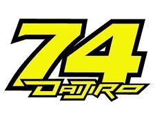 Pegatina Adhesivo Sticker 74 Daijiro Kato  12 cms Sticker Aufkleber Autocollant