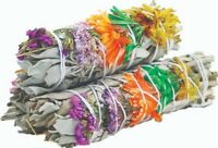 Good Vibes White Sage Smudge Sticks (Pack of 3), House Cleansing, Energy Cleanse