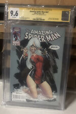Amazing Spider-Man #607 CGC 9.8 White Pages Signed by J. Scott Campbell