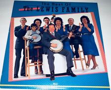 The Best Of The Lewis Family Canaan Bluegrass Gospel LP 22L