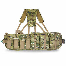 Bulldog Rifleman Airborne Webbing Set MIlitary Para SF 3 Pouch With Yoke MTP NEW