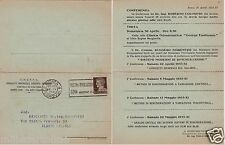 # ROMA: SINDACATO PROV. FASCISTA INGEGNERI- C. APRIBILE CON PROGRAMMA