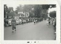 June 1955 World's Most Depressed Small Town Boy Scout Parade Vintage Snapshot