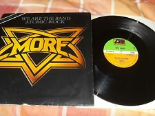 """MORE - We Are The Band ~ 12"""" Single + Warhead LP NWOBHM"""