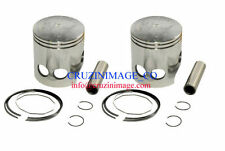 YAMAHA RD400 STANDARD SIZE PISTONS SET RINGS PIN CLIPS INCLUDE 10-RD400PS