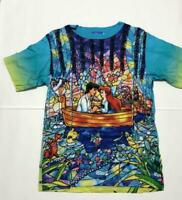Tokyo Disney Sea The Little Mermaid Ariel Eric Stained Glass Design T-shirt