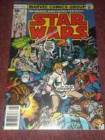 STAR WARS comic #2 1977