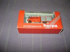 HERPA 042826 MERCEDES  CAMION POMPIERS 1:87 / NEUF DANS EMBALLAGE D'ORIGINE