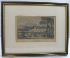 Framed Antique Engraving of Maidstone by T. Garner After G. Shepherd