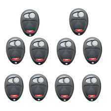 10 PCS Remote Keyless Entry Key Fobs for Chevrolet Colorado Canyon H3 Key Shell