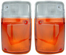 Pair of Corner Indicators Lights for Nissan Patrol GQ 11/94-09/97 New 95 96 97