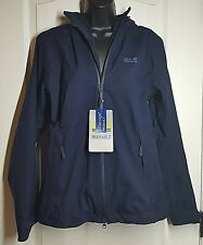 Jack Wolfskin Women's Arroyo Weatherproof Jacket in Midnight Blue Size S NWT