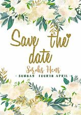 Unlimited - Save the date Invitation Wedding Engagement Birthday Baby Hens 21st