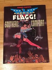 American Flag Southern Comfort HC 1987 New Condition Signed & Numbered Edition
