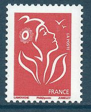 TIMBRE 3734A NEUF XX LUXE MARIANNE DE LAMOUCHE - ROUGE SANS VALEUR TVP 20 GR.