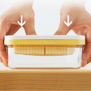 Butter Box Cheese Cutting Crisper Sealed Rectangular Box With Lid Fridge I7R2
