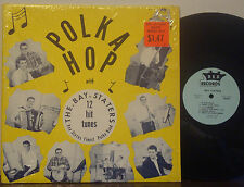 "EDDIE POUDRIER & THE BAY-STATERS ""Polka Hop"" RARE 1966 DG REX MONO LP Polka Rock"
