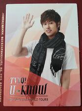 TVXQ DBSK Tohoshinki official SMTown III Korea version Yunho photocard type 3