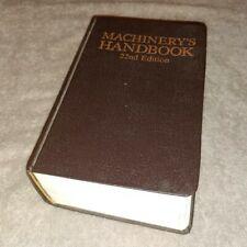 Machinery's Handbook, 22nd Edition