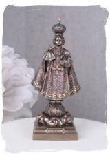 Sakrale Skulptur Jesuskind prager Jesulein Kirchenfigur Religiöse Skulptur Antik