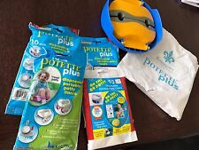 Never used Kalencom 2 in 1 Potette Plus Portable Potty Seat w/ liners