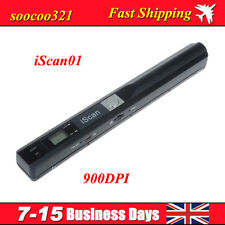 iSCAN01 900DPI Portable Handheld Scanner A4 Photo Document Book Handyscan FAST