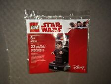 New Factory Sealed LEGO Star Wars Polybag, 40298: DJ Mini figure with base.