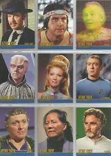 "Star Trek Heroes & Villains TOS: ""Tribute Season 3"" 12 Card Chase Set #T38-49"