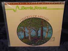 Bernie Krause Citadels Of  Mystery SEALED 1978 MFSL 1/2 SPEED PROMO VINYL LP